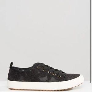 Aldo Black Lace Sneakers